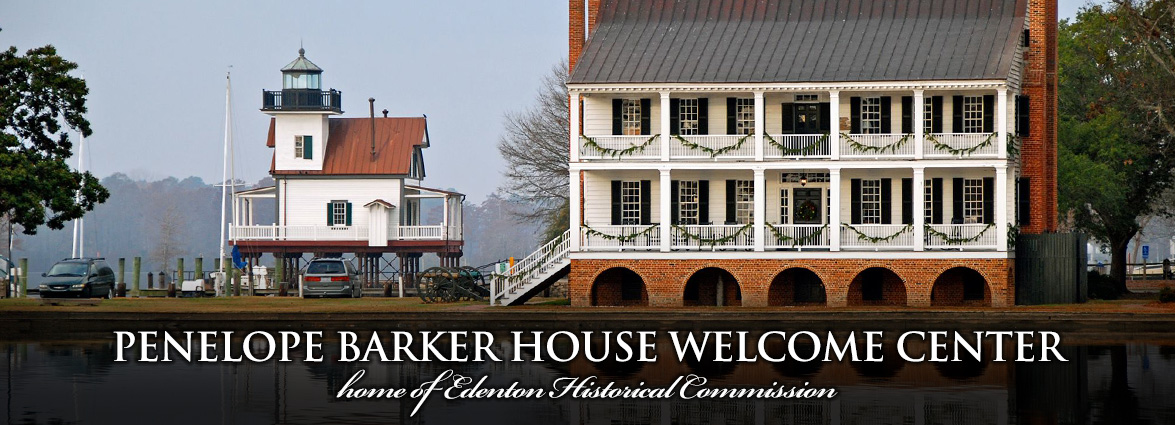 Penelope Barker House Welcome Center in Edenton