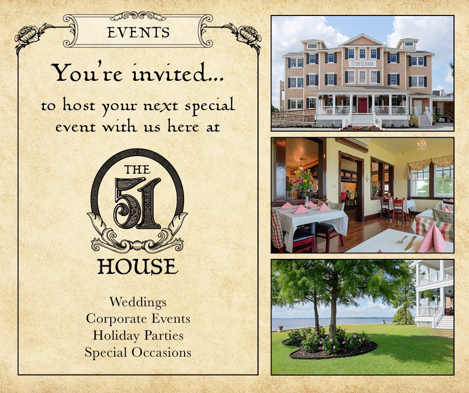 Host your next event at 51 House!