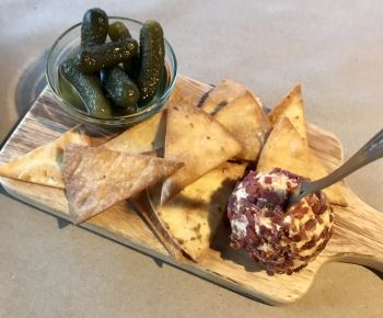 Edenton Bay Oyster Bar in Edenton NC, Pimento Cheese Board