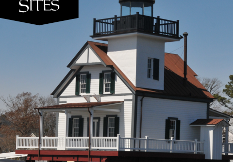 Historic Edenton State Historic Site, 1886 Roanoke River Lighthouse