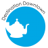 Logo for Destination Downtown Edenton