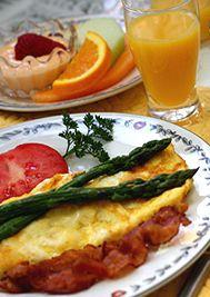 Granville Queen Inn Bed and Breakfast, Homemade Breakfast
