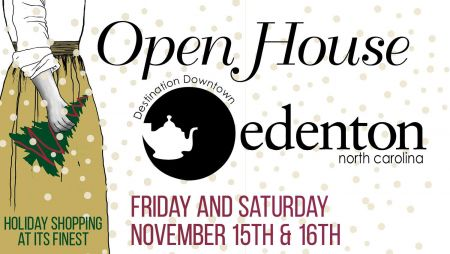 Destination Downtown Edenton, Open House