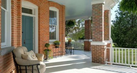 The Cotton Gin Inn Bed and Breakfast Edenton, Sip Sweet Tea on the Porch